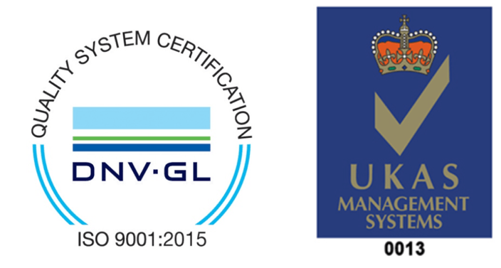 ISO 9001:2015 UKAS Certification